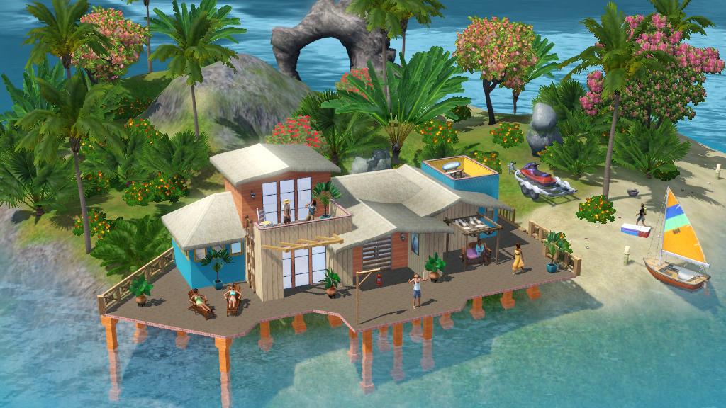free sims island 4