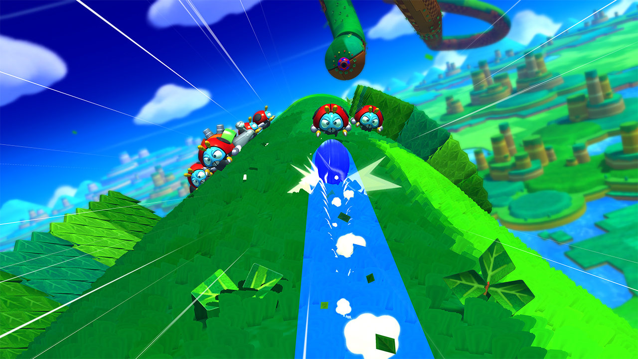 Sonic Lost World 3ds : Sonic lost world ds and wii u screens polygon