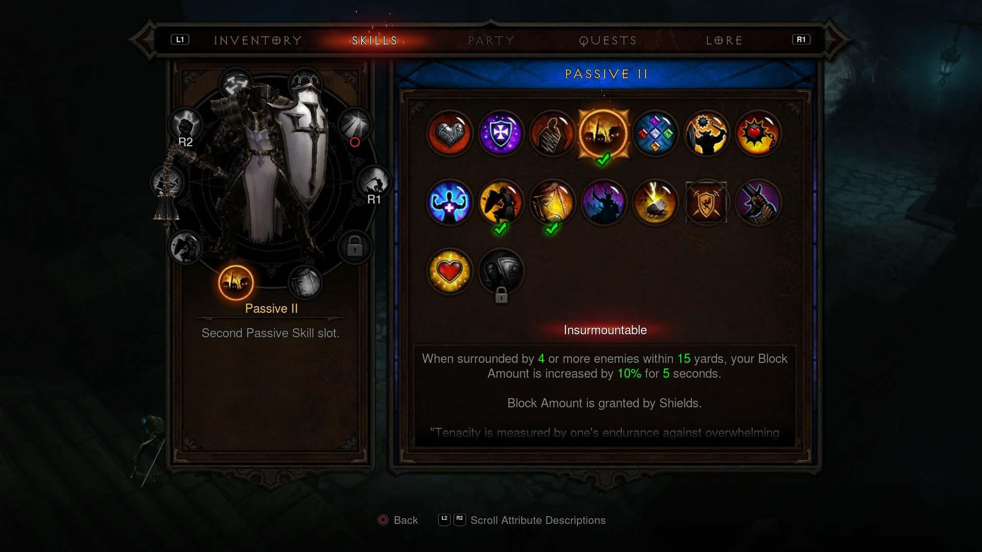 Diablo  Crusader Build Ps