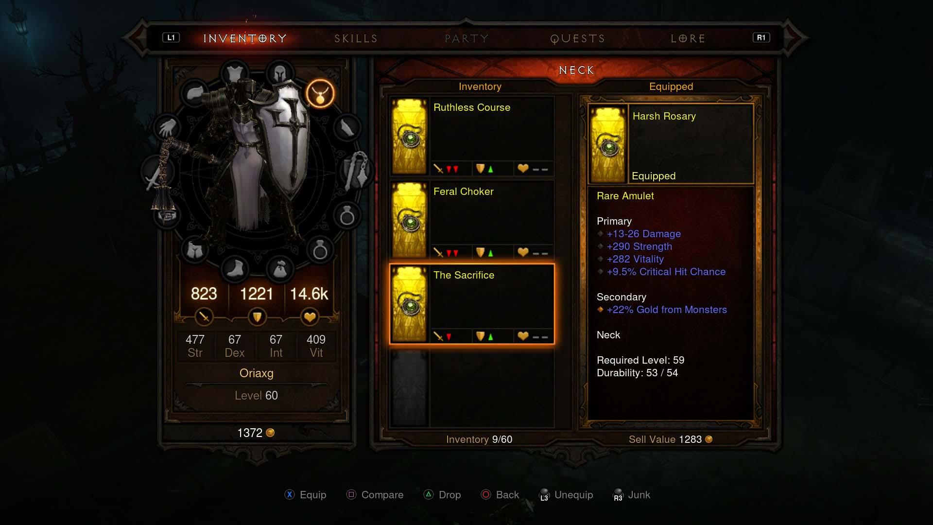 Ps Diablo  Wizard Build