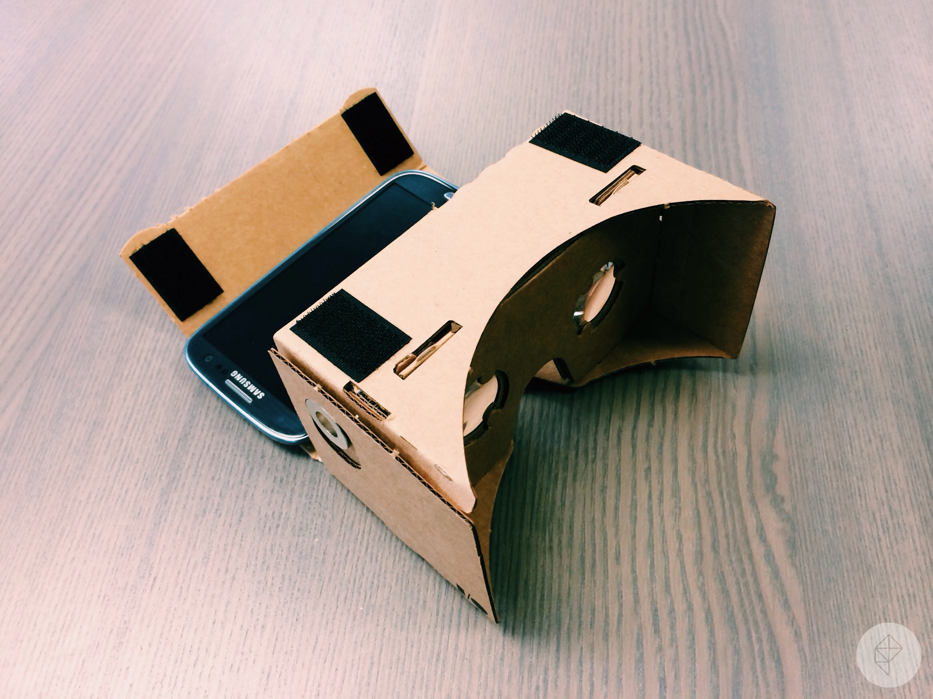 How To Make A Vr Headset With A Pizza Box Smartphone And