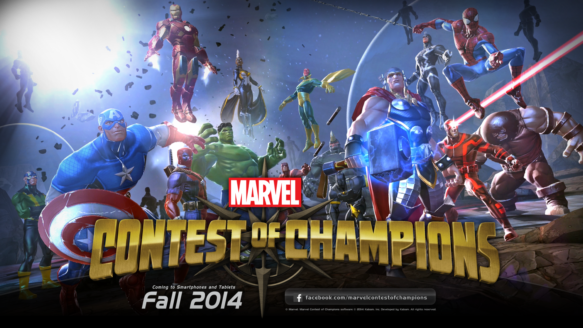 Mobile Brawler Marvel Contest Of Champions Coming This