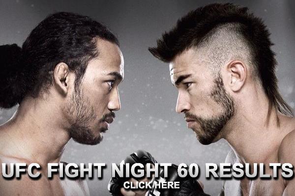 UFC Fight Night 60 Results