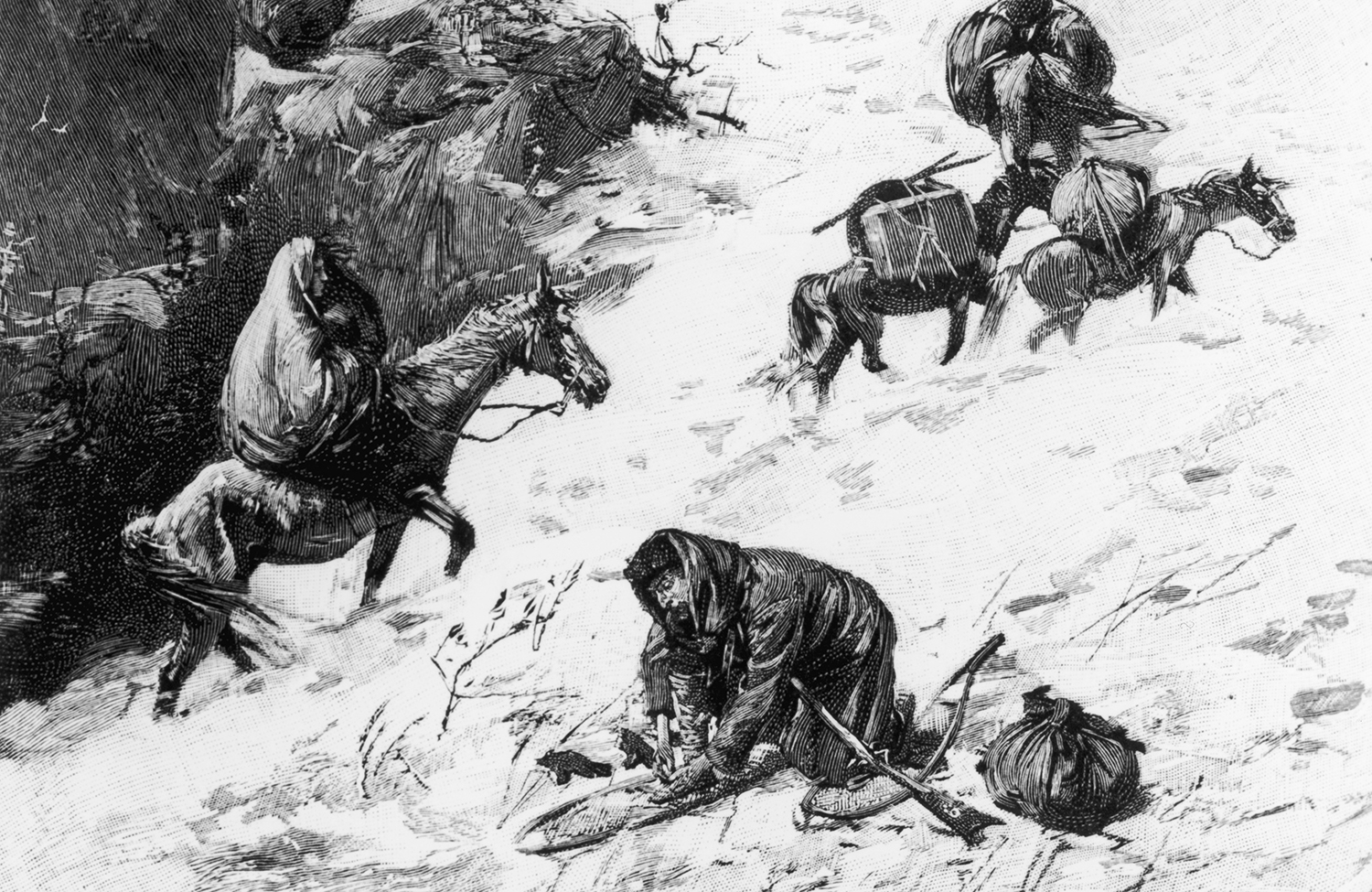 the mistakes and mishaps of the donner party Donner party or donner reed party was an expedition headed by american george donner and james f reed back in may 1846, they both had set themselves off to california in a wagon train it is considered one of the most tragically famous expeditions in californian history and western us migration.