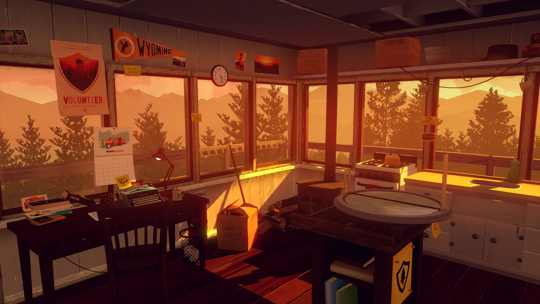 Firewatch cabin