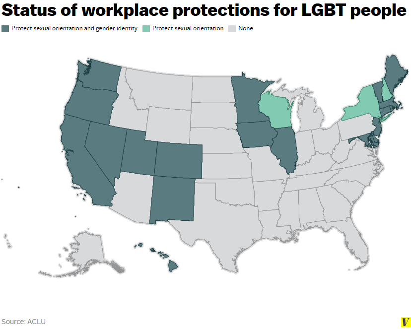 workplace discrimination against lgbt Lgbt law nonprofits  your rights against workplace discrimination  learn how the ada protects job applicants with disabilities against discrimination during.