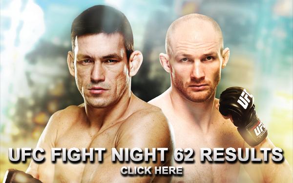UFC Fight Night 62 Results