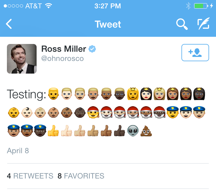 If you don't update iOS, alien emoji will invade your
