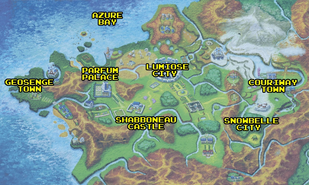 How pokemons world was shaped by real world locations polygon the left vs the right gumiabroncs Images