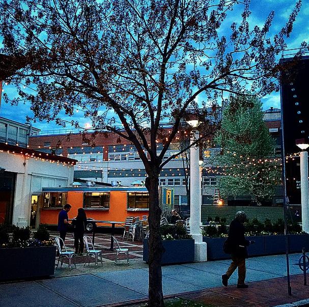 Naco Taco patio