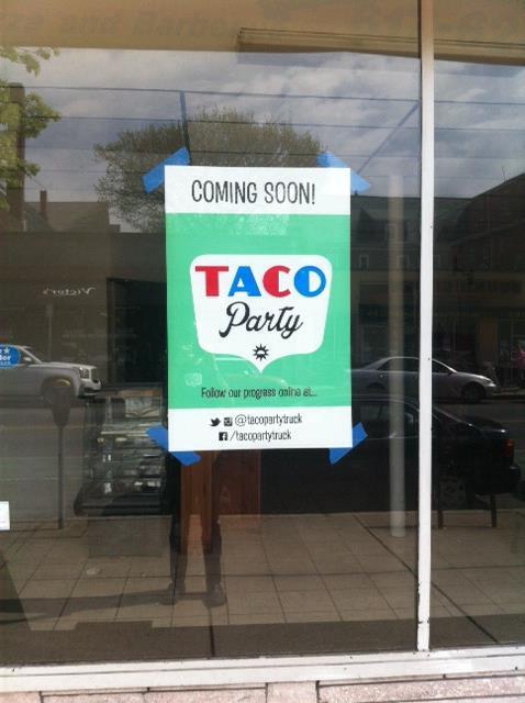 Taco Party brick-and-mortar