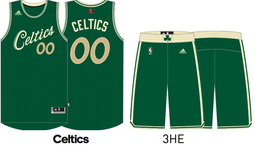 Boston Celtics potential Christmas Day uniforms - CelticsBlog