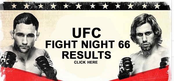 UFC Fight Night 66 Results