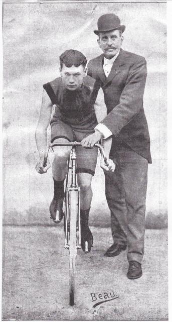 Albert Champion and Choppy Warburton