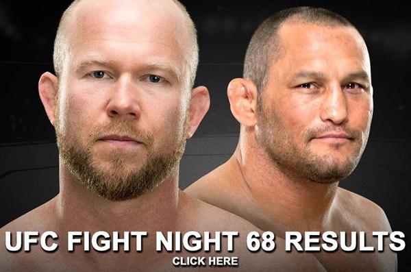 UFC Fight Night 68 Results