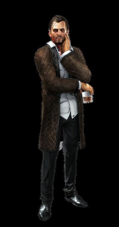 Talos Rucker from Deus Ex: Mankind Divided