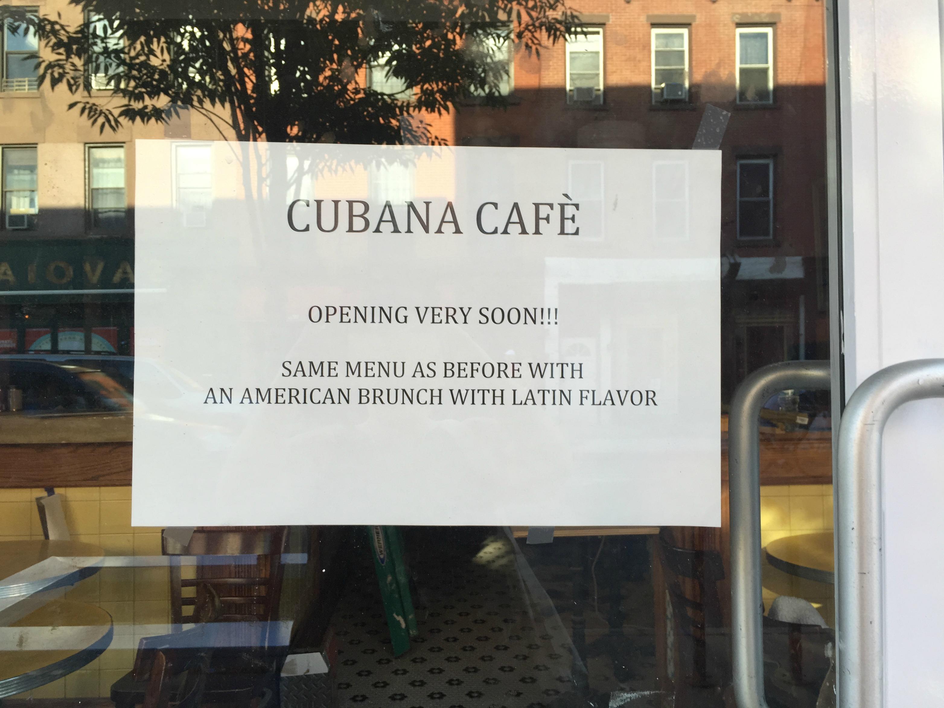 Cubana Cafe Park Slope
