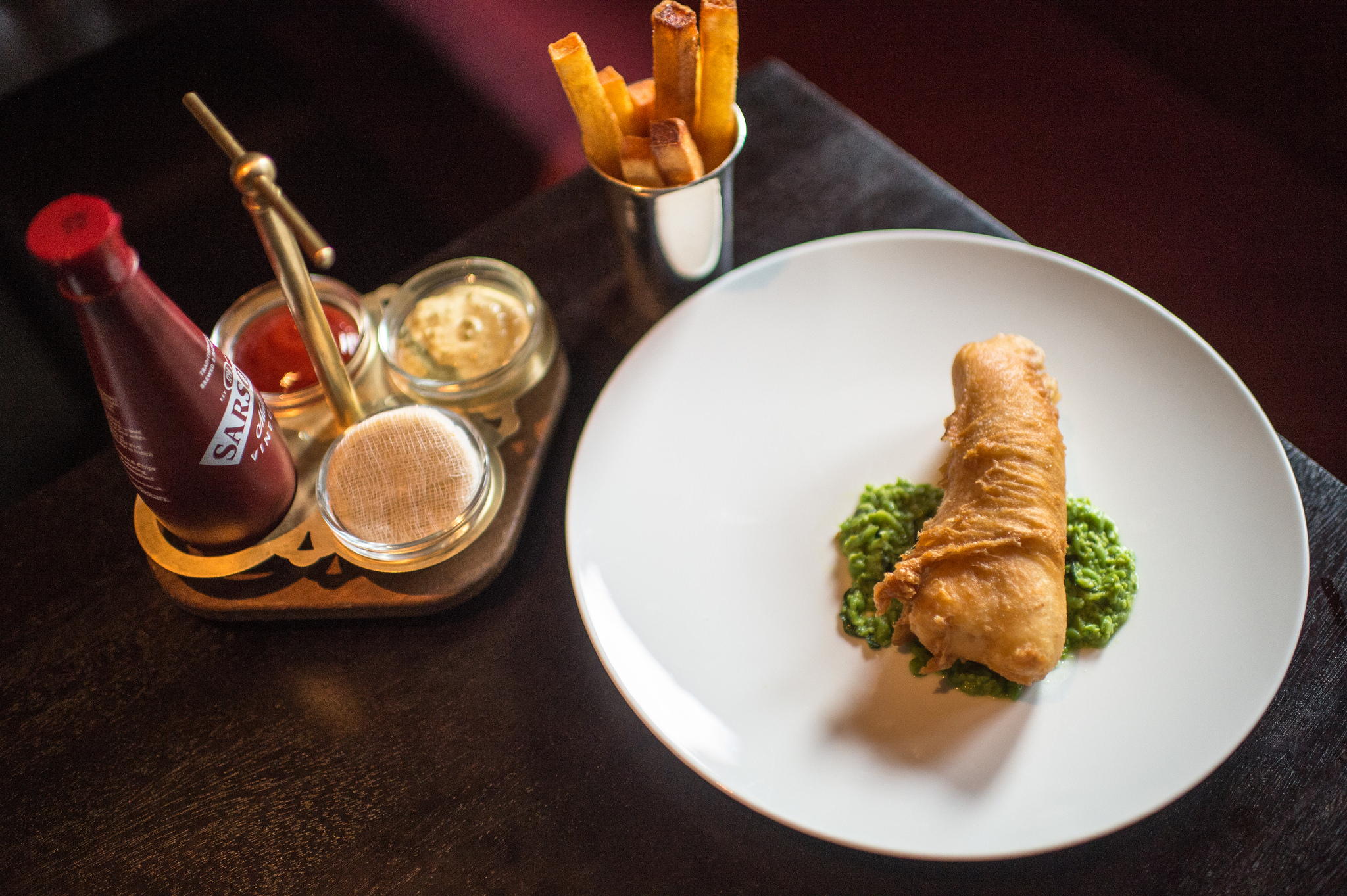 The clocktower bucks all the trends and is better for it for Icelandic fish and chips nyc