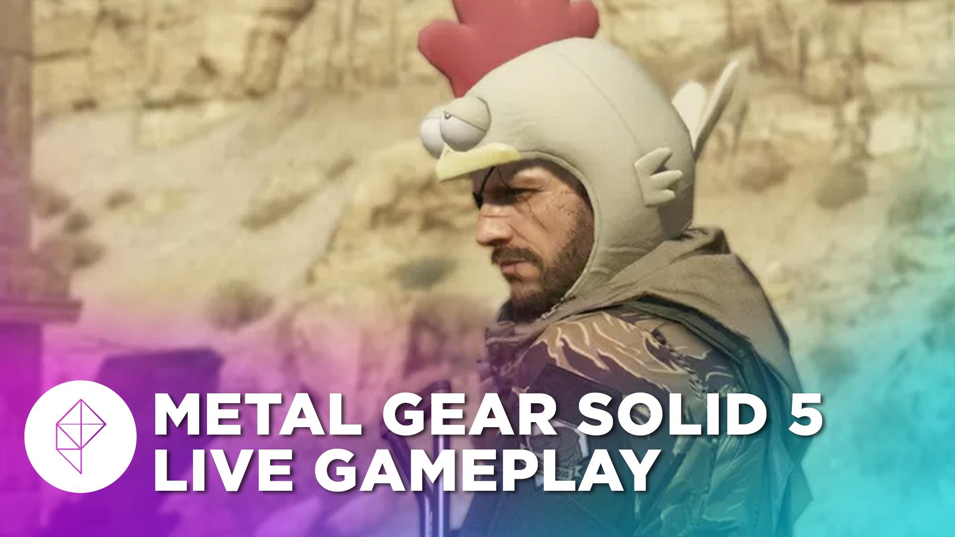 Watch us play Metal Gear Solid 5: The Phantom Pain live
