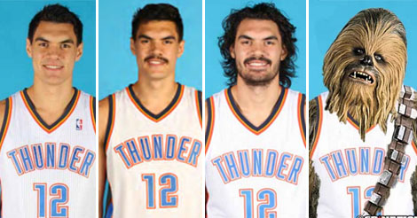 Steven Adams Facial Hair Doubles Every Year And He Will