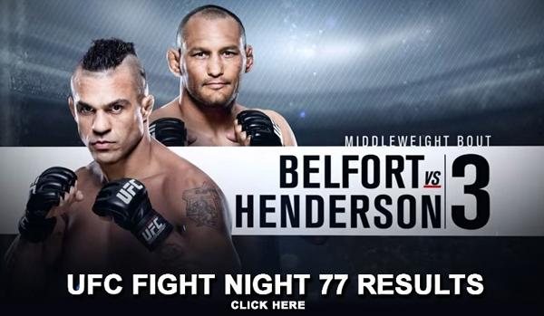 UFC Fight Night 77 Results