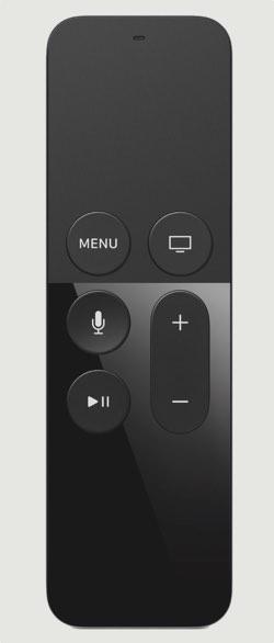 The Siri remote
