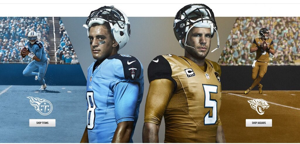 Nike Leaks Jaguars Gold Jerseys Before Team S Official