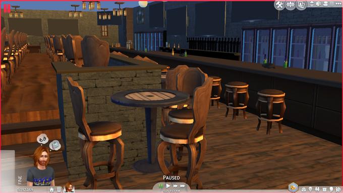Portal Game Bar mock-up
