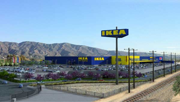 Work begins on the biggest ikea in the united states   curbed la