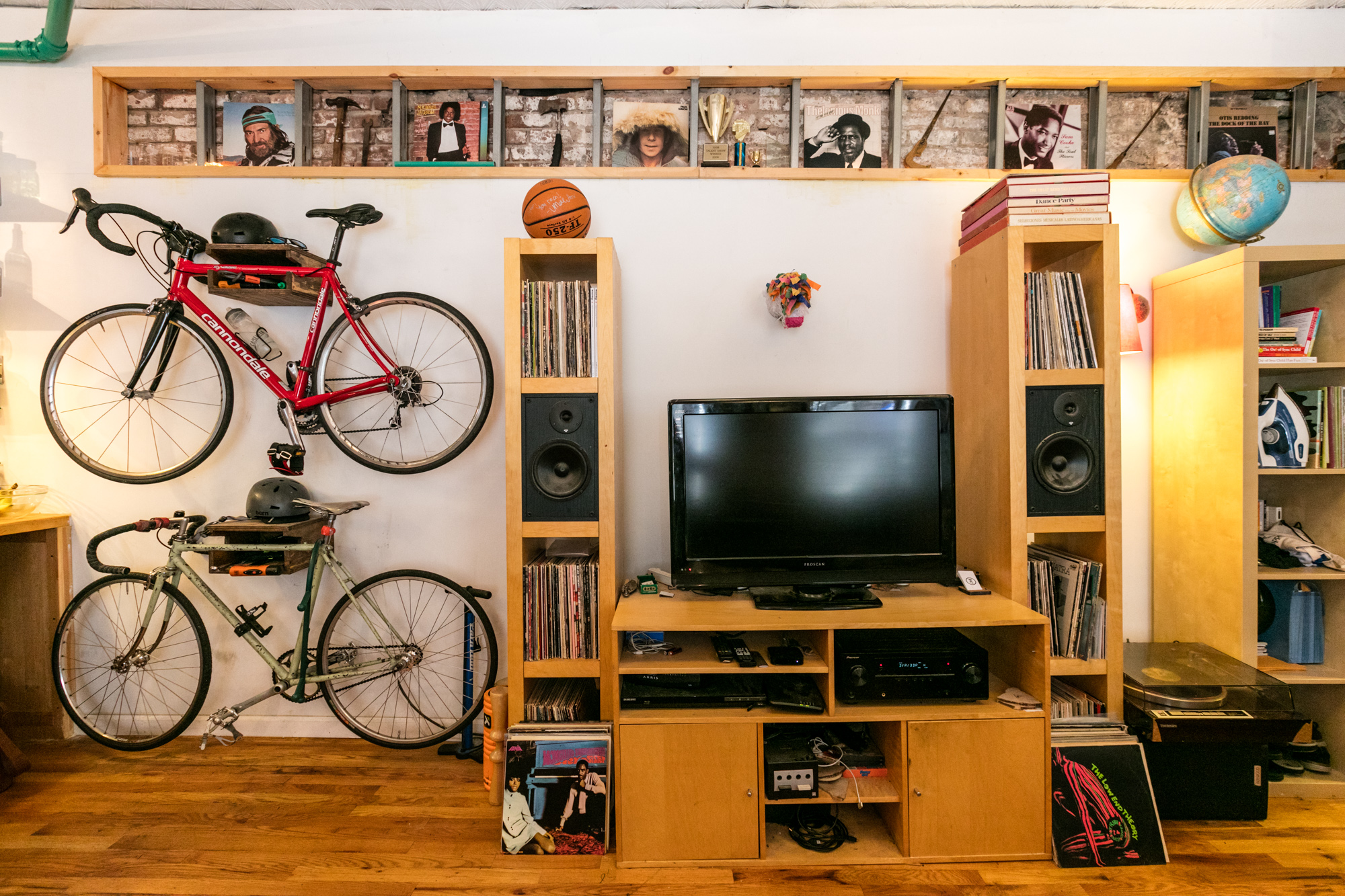 Paul Simon Bedroom Furniture How Roommates Turned A Brooklyn Studio Into A Two Bedroom Curbed Ny