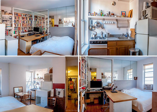 New York City 39 s 14 Most Famous Micro Apartments Curbed NY. 100 Square Feet Bedroom