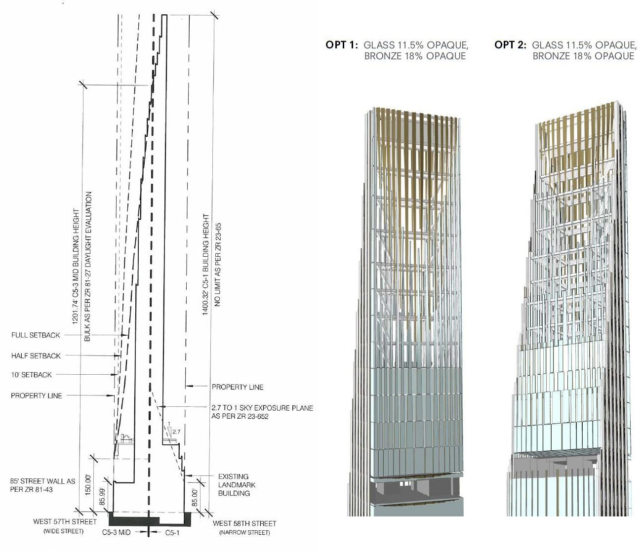 111 West 57th Street Tower New York Ny Pictures To Pin On