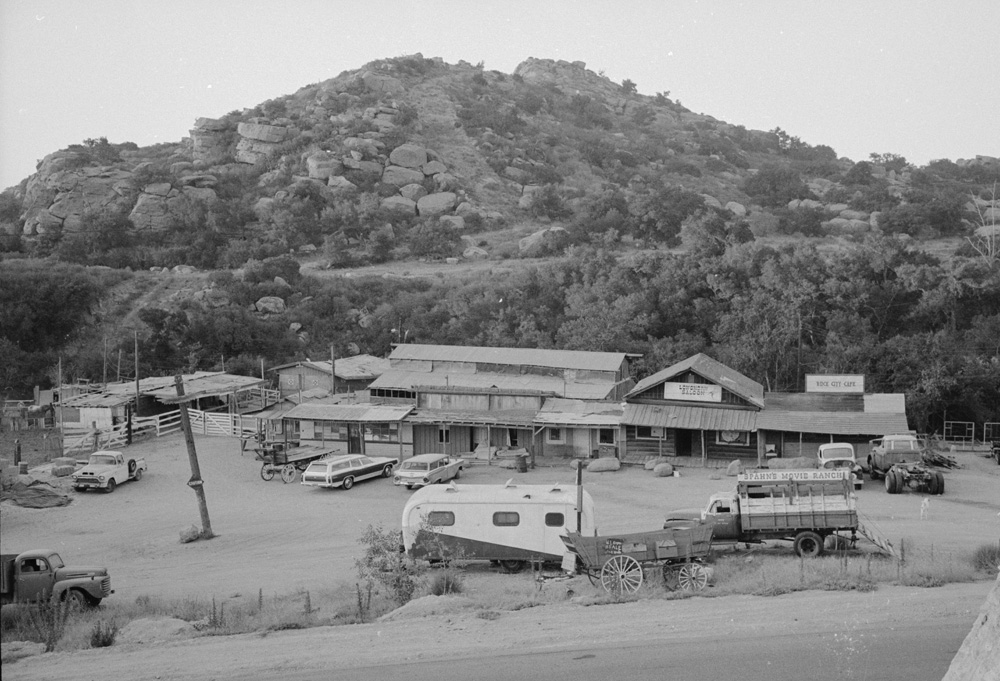 The Story Of The Abandoned Movie Ranch Where The Manson
