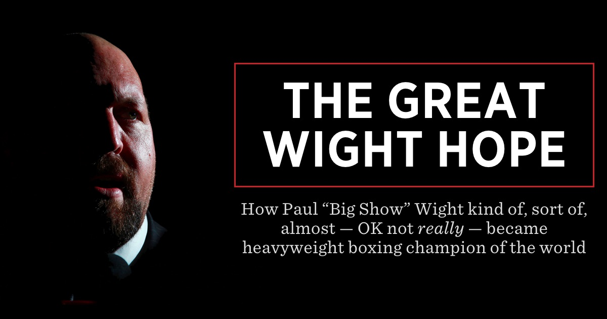 The Great Wight Hope - SBNation.com