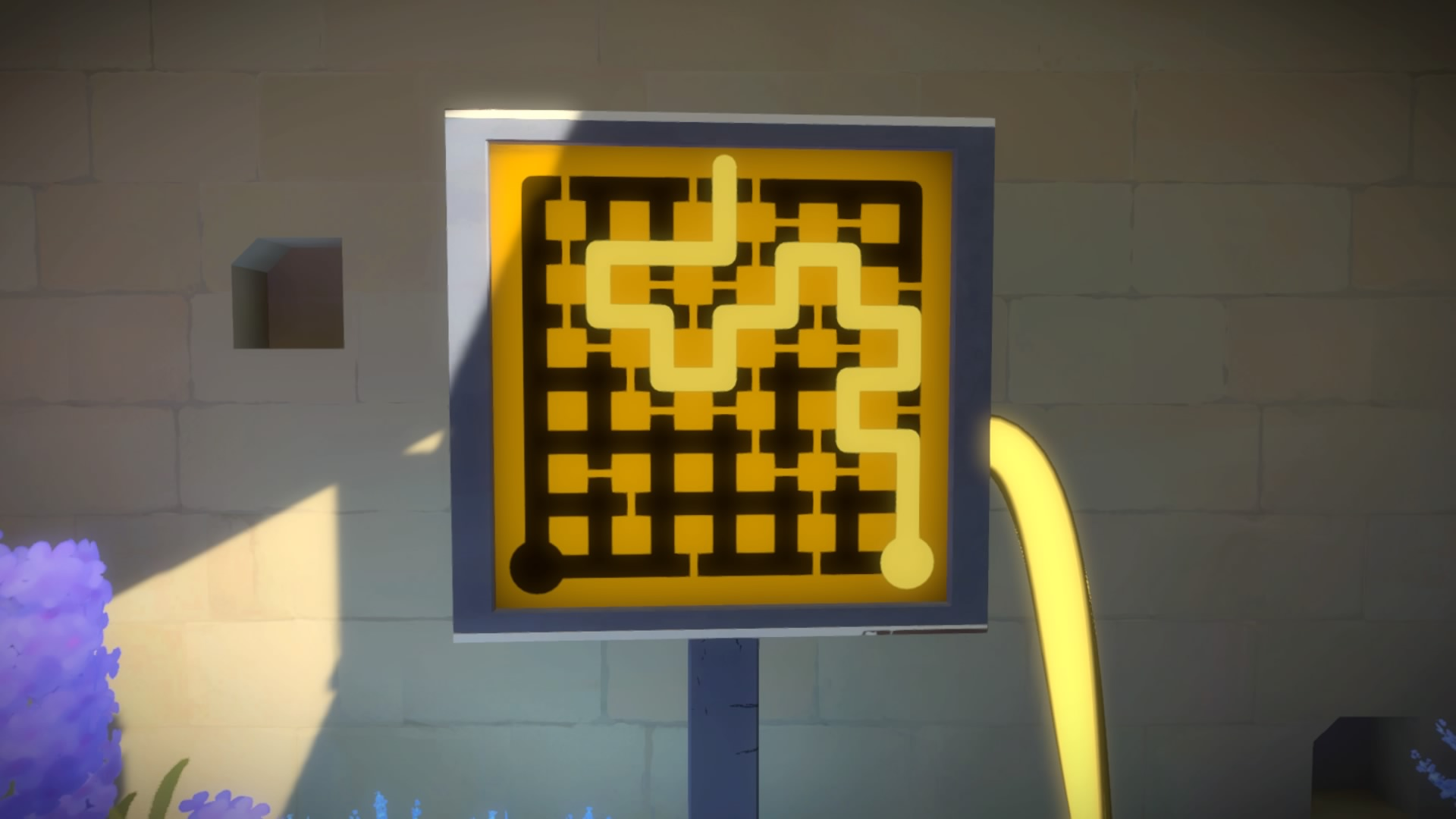 The witness castle courtyard puzzle solutions polygon for 16 door puzzle solution