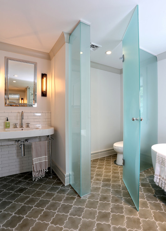 Toilet room within the bathroom the ultimate luxury or - How to decorate a water closet ...