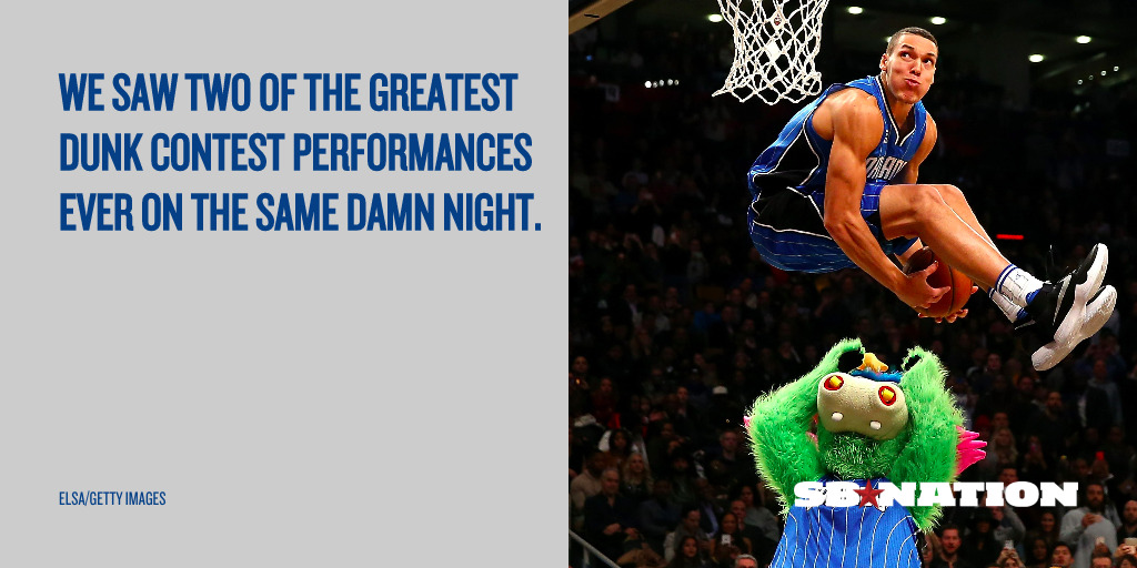 Aaron Gordon Is The Greatest Dunk Contest Loser Of All