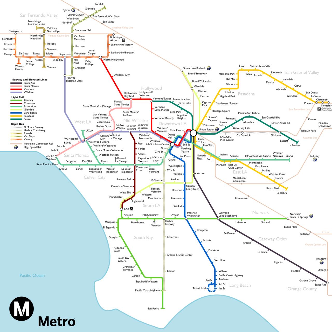 The full fantasy map of rail ...