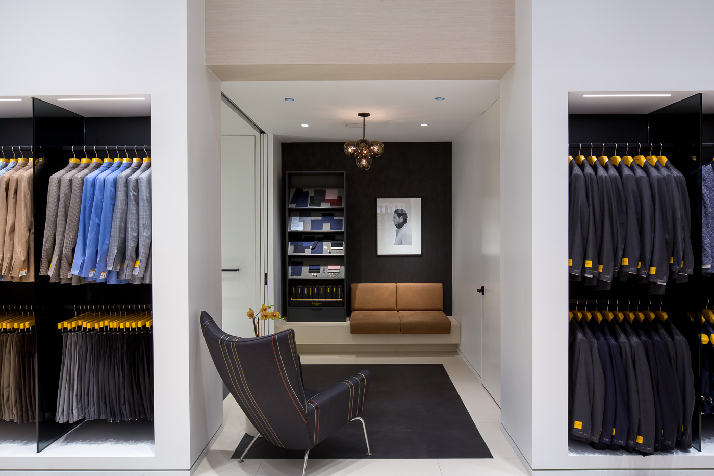 Hickey Freeman's Made-to-Measure Store Is For the Cooler ...