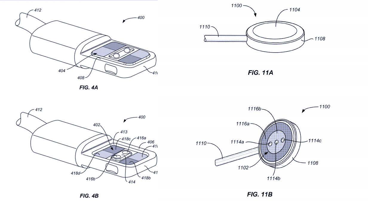apple patents magnetic connector for stacking up