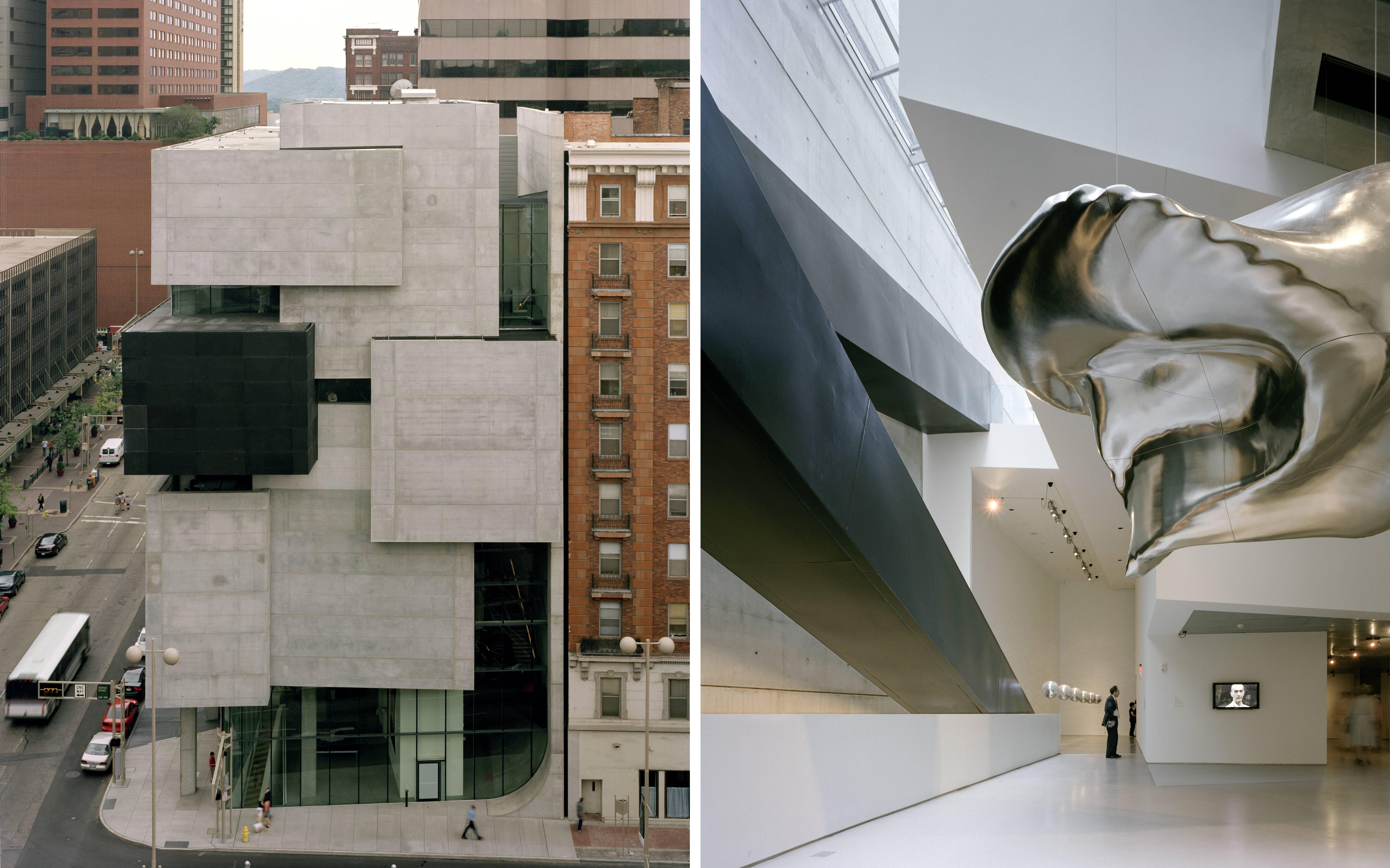The Rosenthal Center for Contemporary Arts in Cincinnati, Ohio