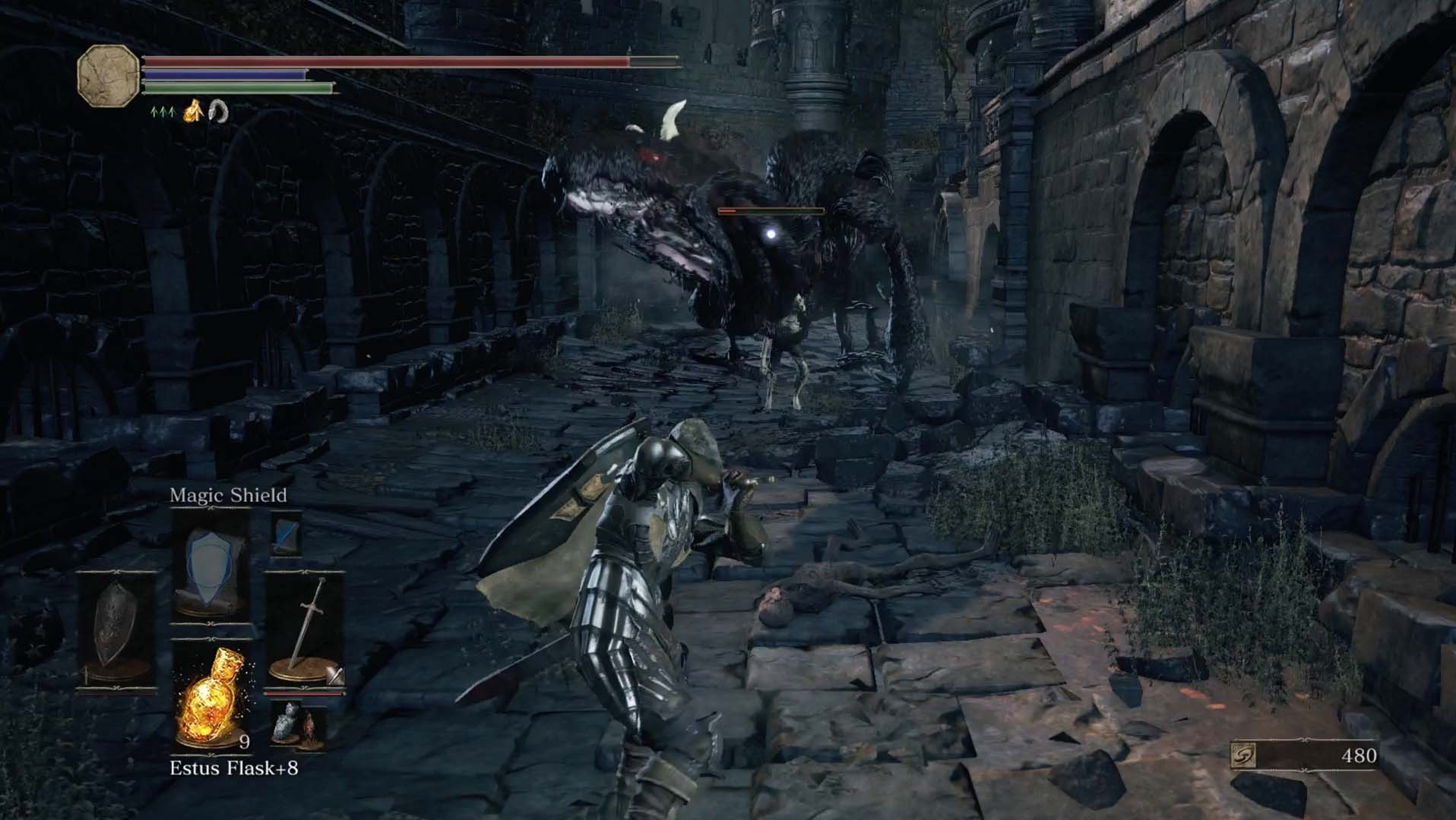Dark souls 3 lothric castle walkthrough polygon this area has two pus of men some hollow soldiers and a winged knight grab the two titanite chunks at the bottom level underneath the bridge biocorpaavc Gallery