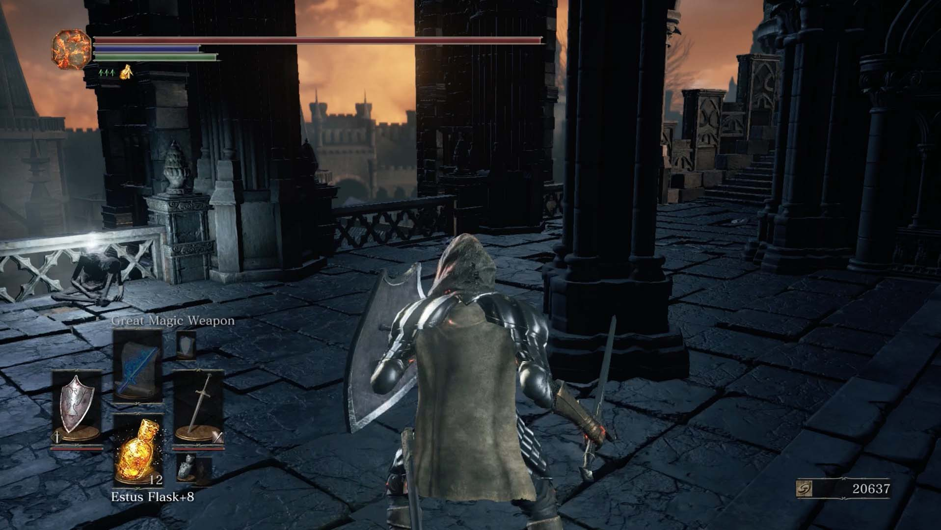 Dark souls 3 lothric castle walkthrough polygon while facing the balcony look right to find the next path and a squad of hollow soldiers these include archers and soldiers who will throw potions to biocorpaavc Gallery