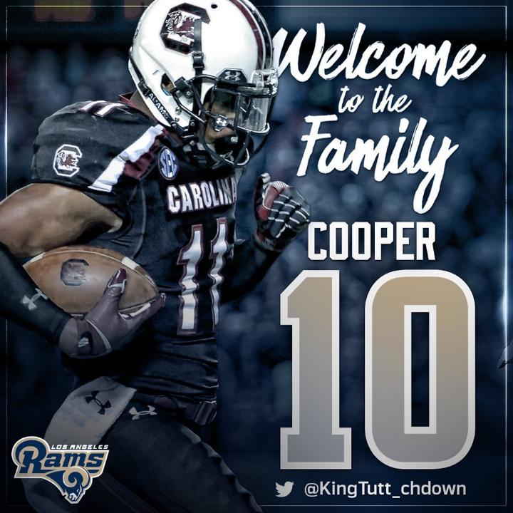 Pharoh Cooper jersey number