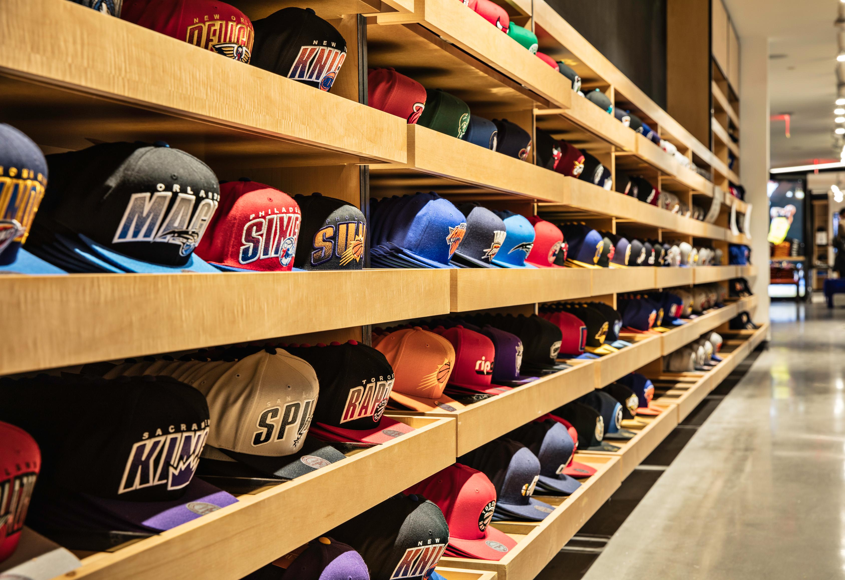 new nba store has an endless aisle thanks to e commerce partner