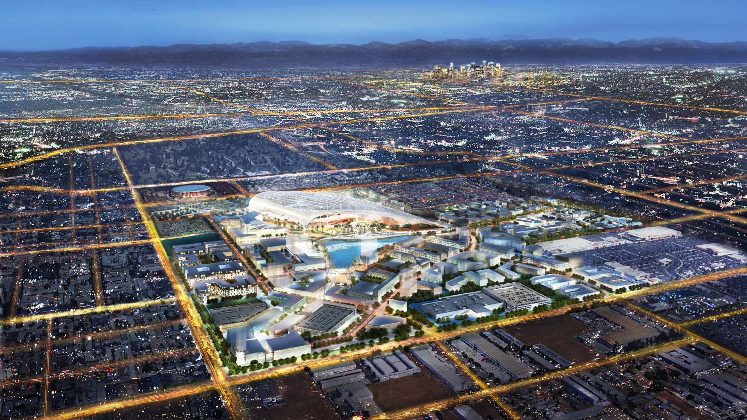 Here's the Huge New Neighborhood Rising Around the Rams Stadium in ...