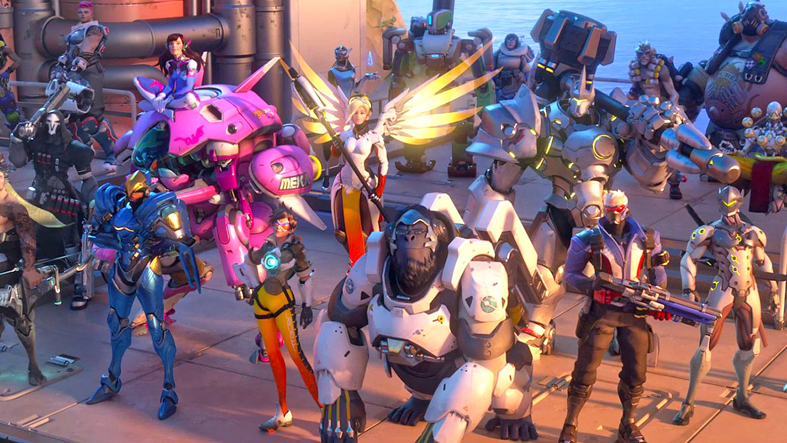 Overwatch reveals new character and game mode