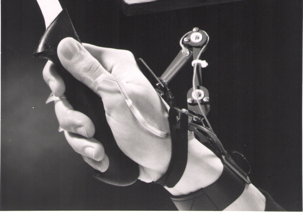 A Virtual Technologies force-feedback glove