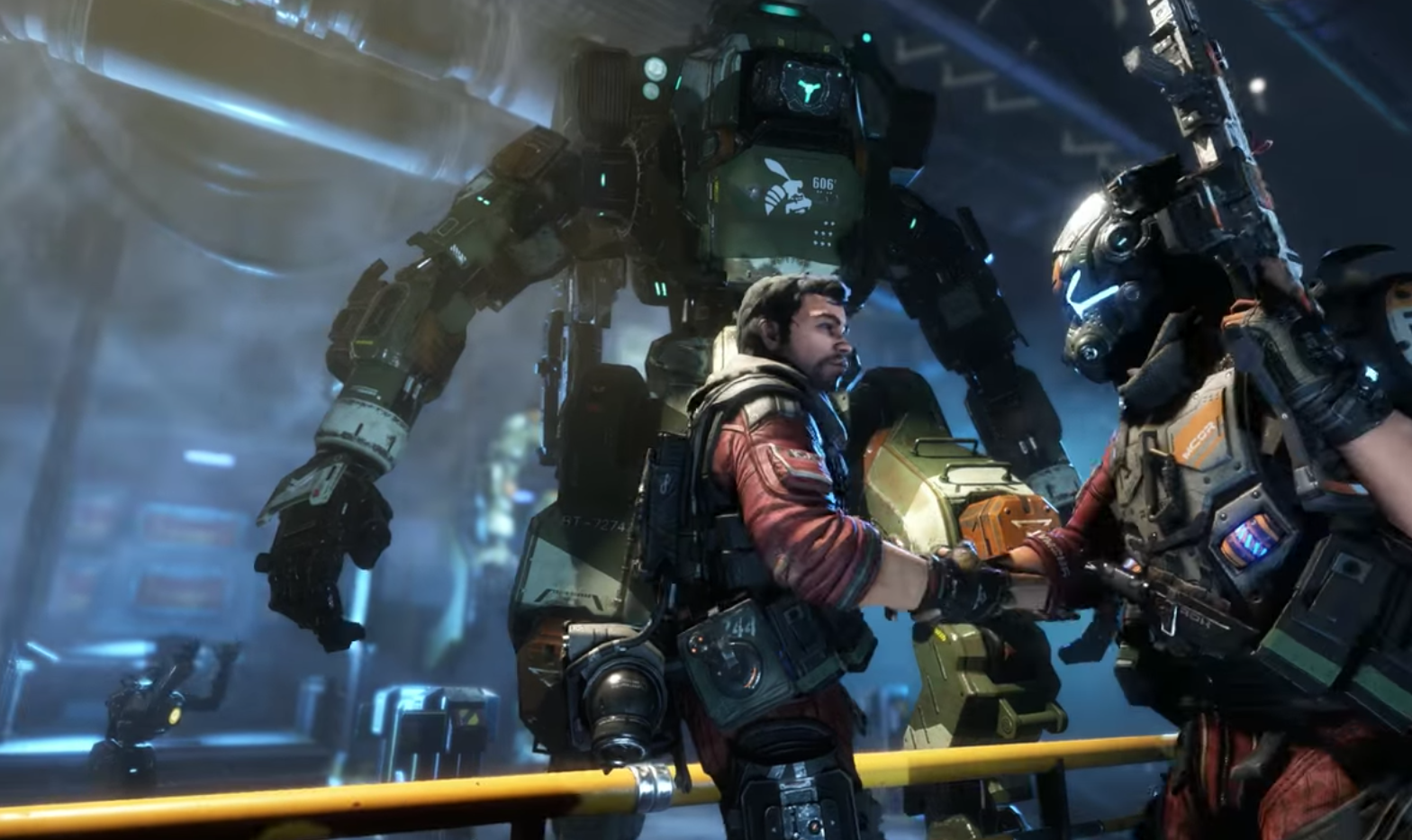 Titanfall 2 trailer provides first look at single-player story - The