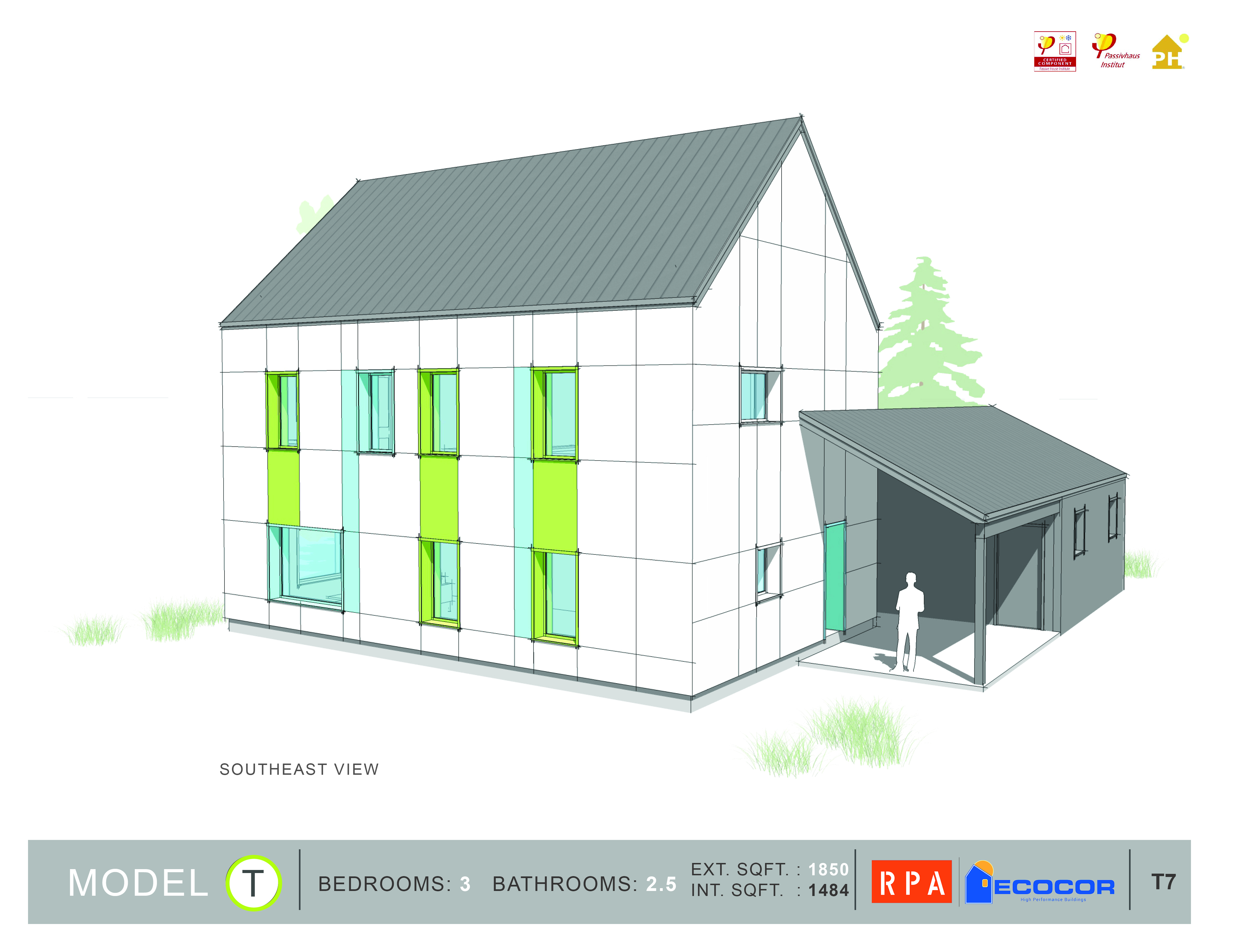 Build a eco house model